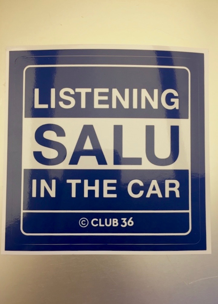"""SALU LIVE TOUR 2016 """"Good Morning""""GOODS ステッカー"""