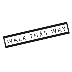 WALK THIS WAY Towel