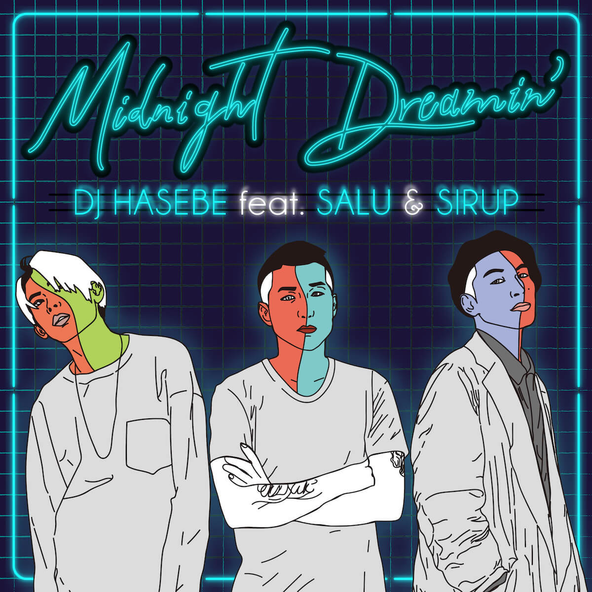 DJ HASEBE / Midnight Dreamin' feat. SALU & SIRUP