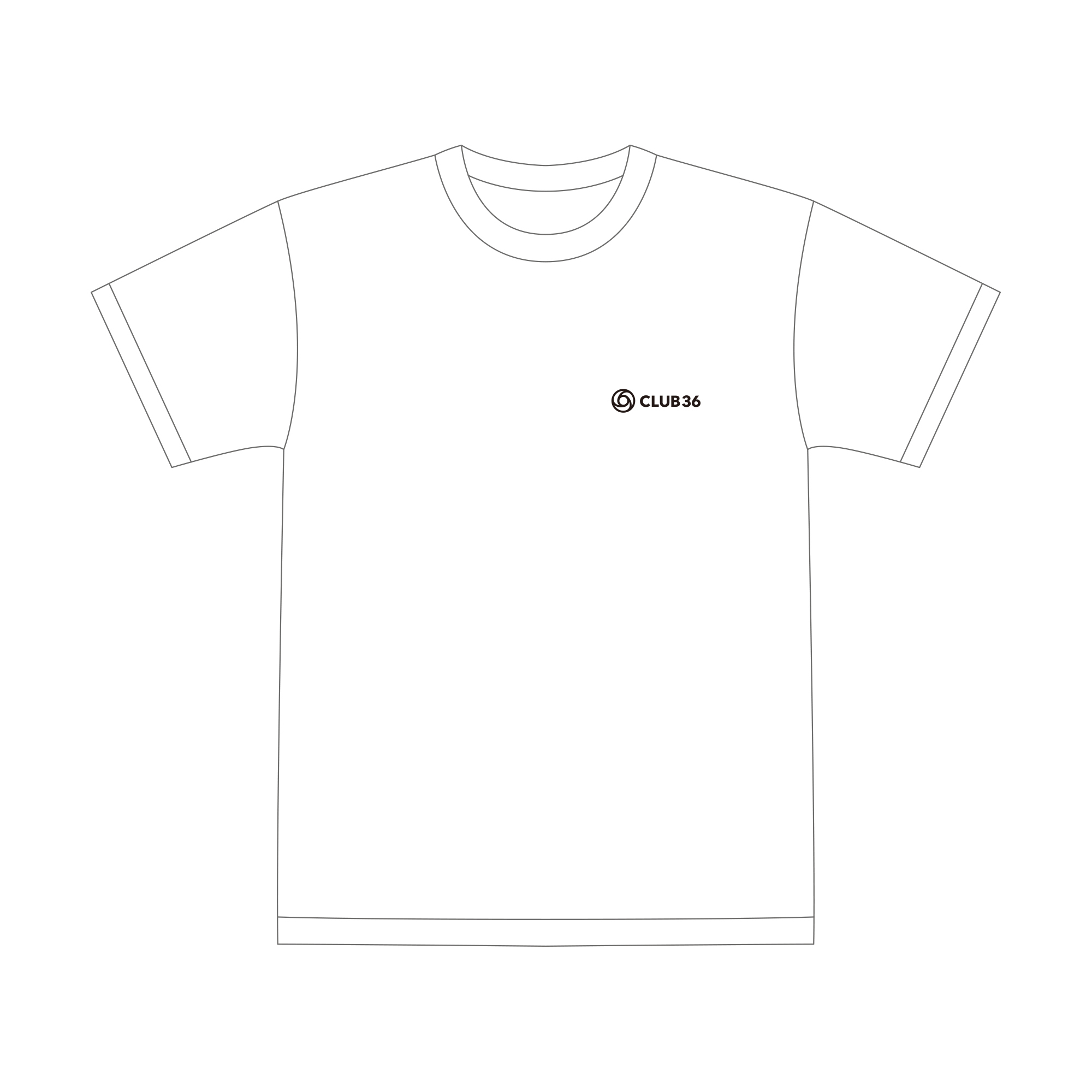 【CLUB36 Limited Edition】Photo T-Shirt