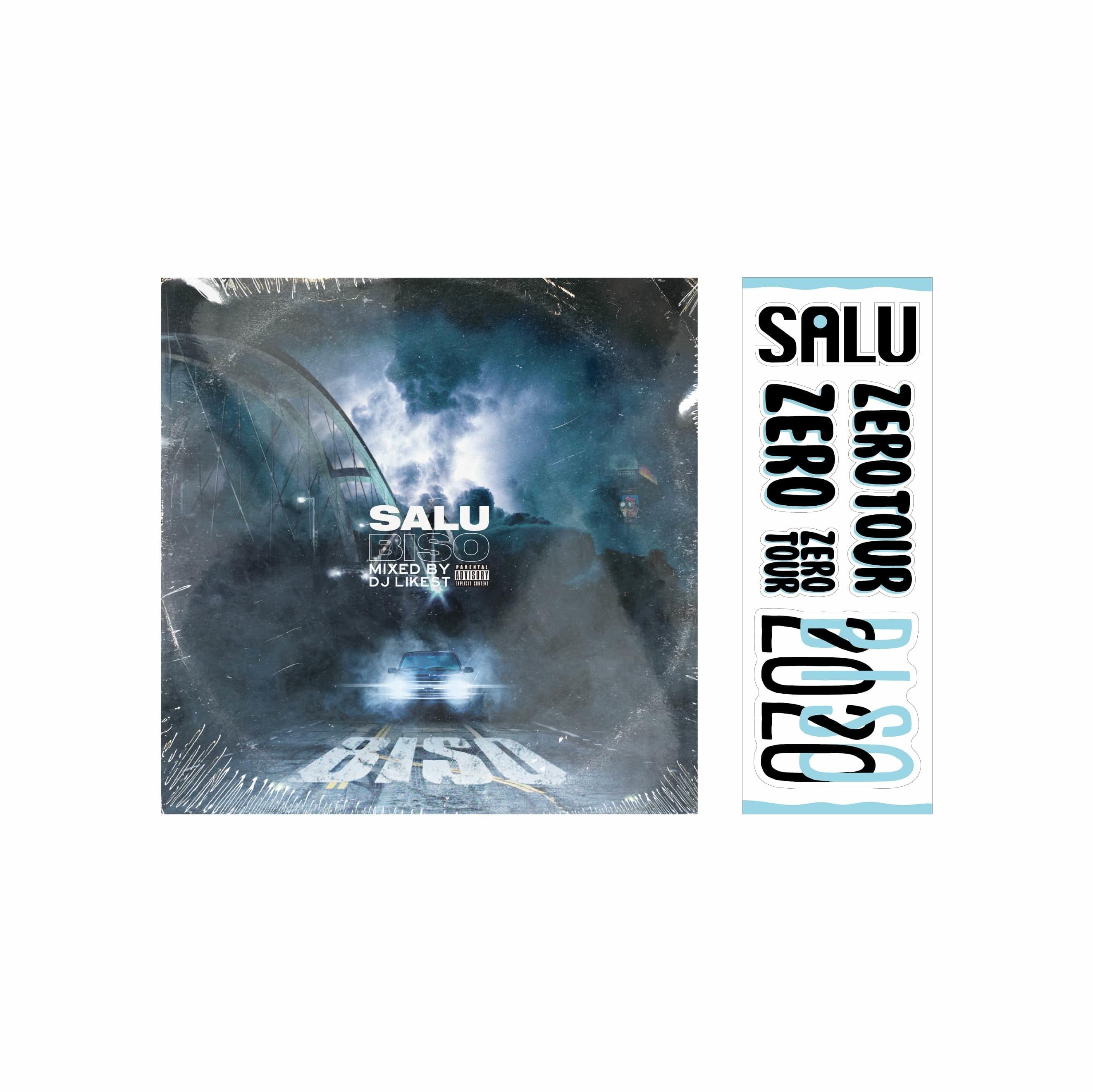 【ZERO TOUR Goods】BIS0(CD)+ステッカー セット