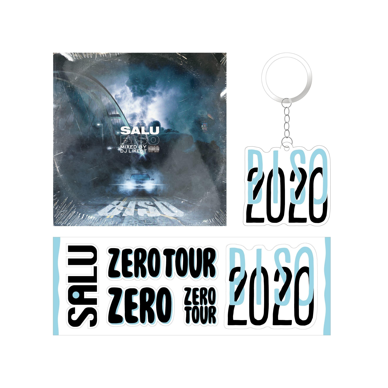 【ZERO TOUR Goods】BIS0(CD)+ステッカー+キーホルダーB セット